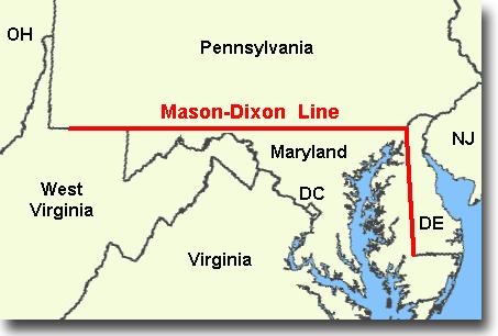 マディソン・ディクソン線