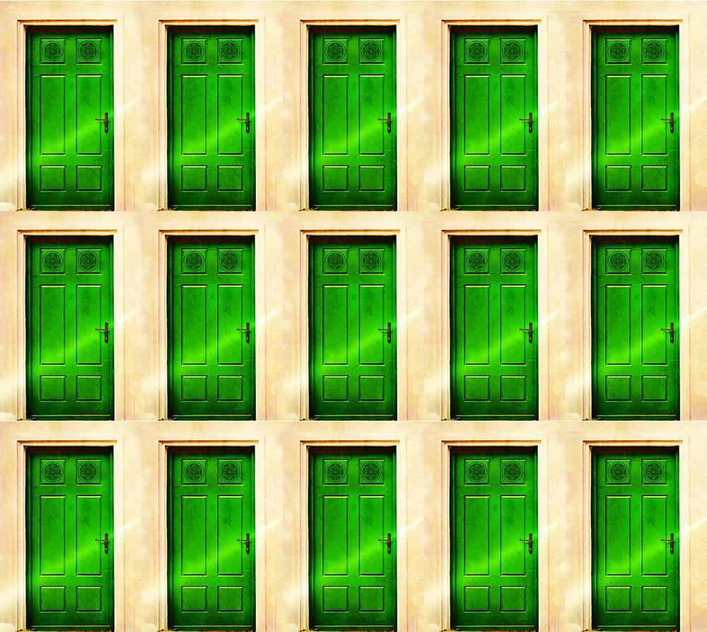 東芝に見る緑の扉