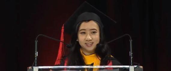 卒業スピーチ