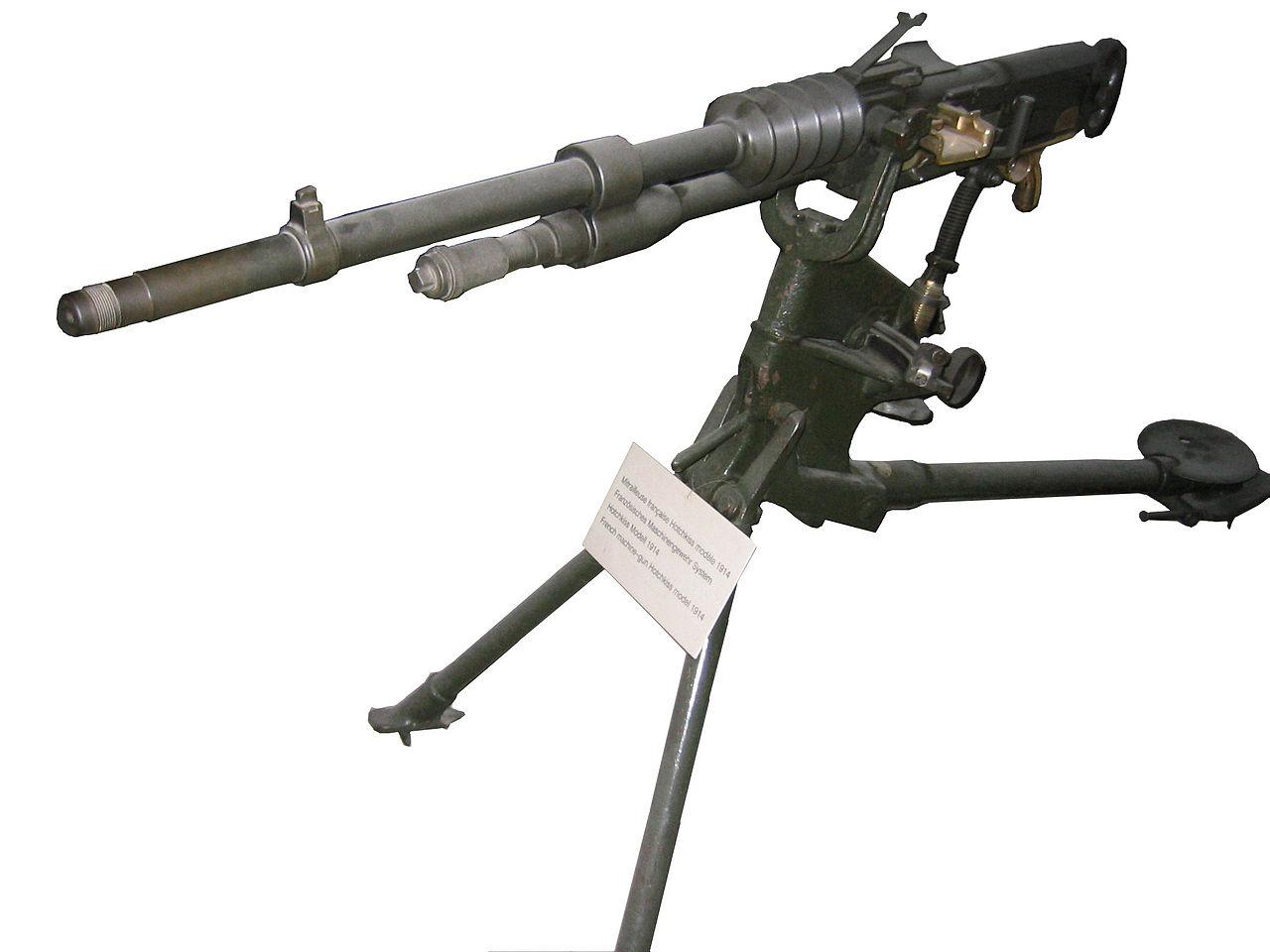 ホチキス社製重機関銃